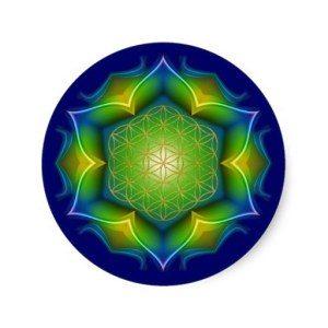 Basis Pakket, met de levensbloem als symbool voor spiritualiteit